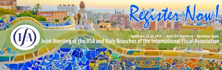 23-24/09 Barcellona – Bilaterale Branch ITA-USA